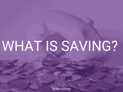 What is Saving?